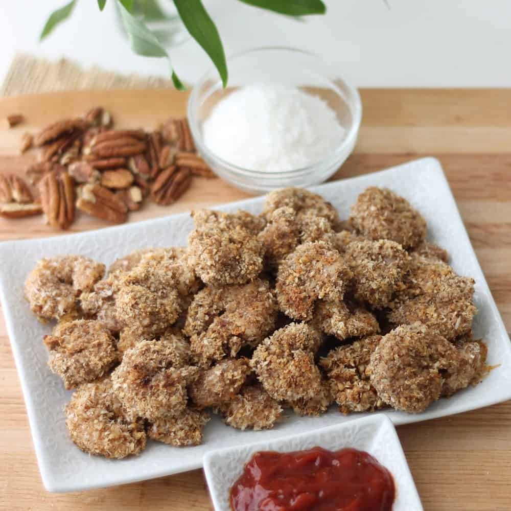 Pecan Coconut Shrimp from Living Well Kitchen