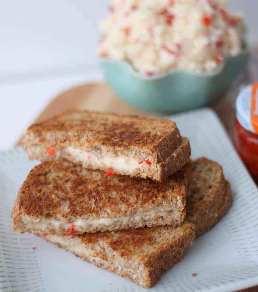 Pimento Cheese Grilled Cheese from Living Well Kitchen