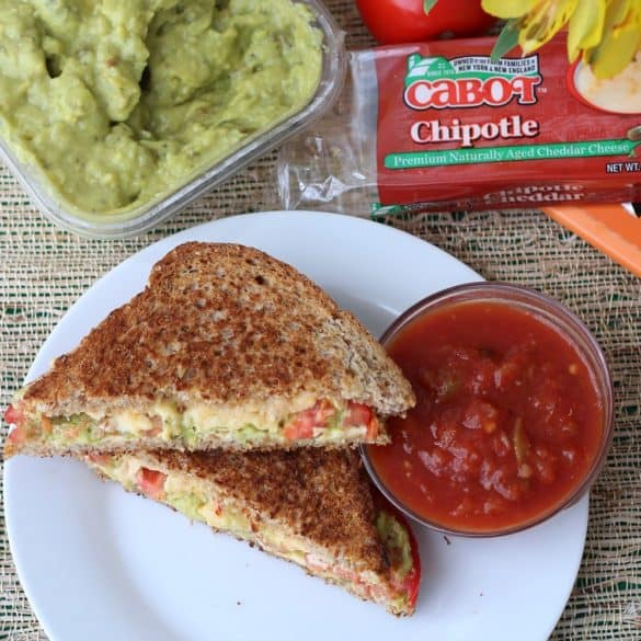 Mexican Grilled Cheese from Living Well Kitchen