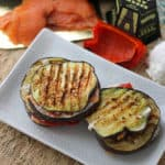 Salmon & Eggplant Grilled Cheese from Living Well Kitchen