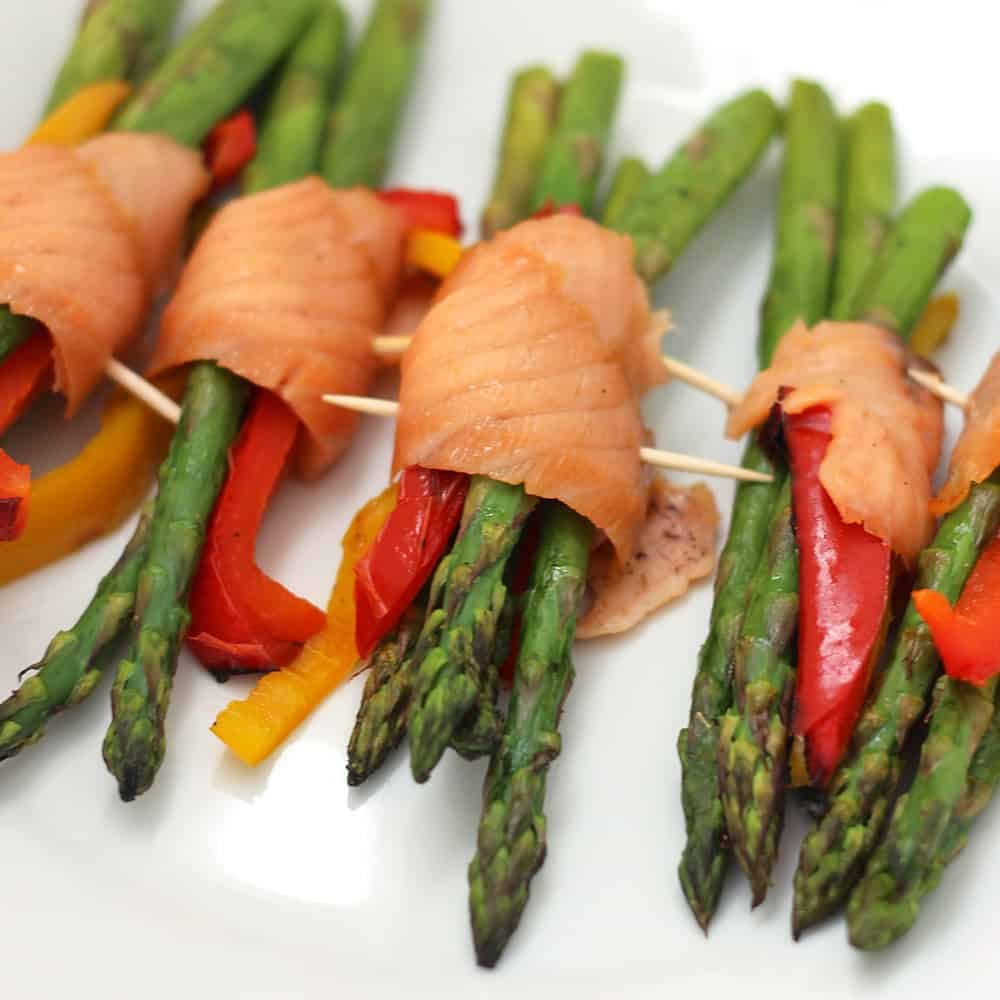 Salmon Asparagus Bundles from Living Well Kitchen