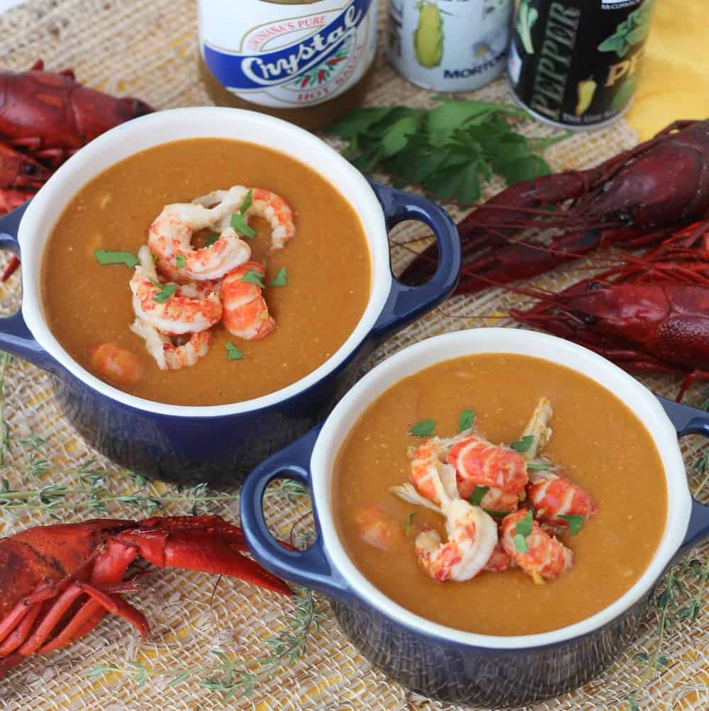 Crawfish Bisque From Living Well Kitchen