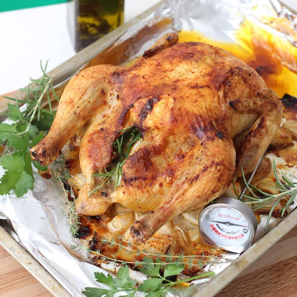 And that's it! Your Perfect Roasted Chicken is ready!