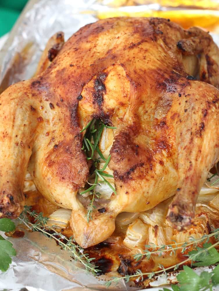 Perfect Roasted Chicken from Living Well Kitchen