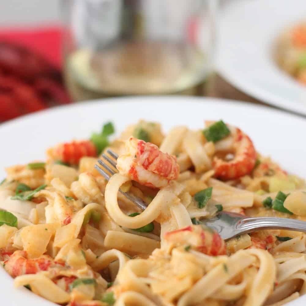 Easy crawfish recipes pasta