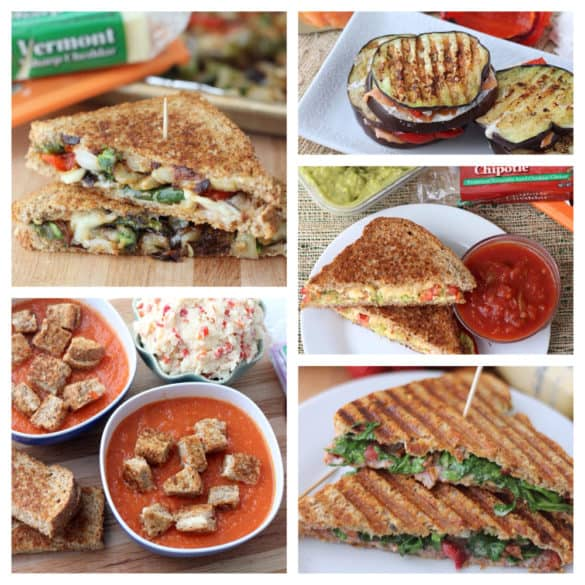 Grilled Cheese Recipe Round-up from Living Well Kitchen