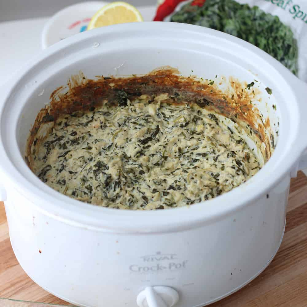 Spinach and Crab Dip from Living Well Kitchen