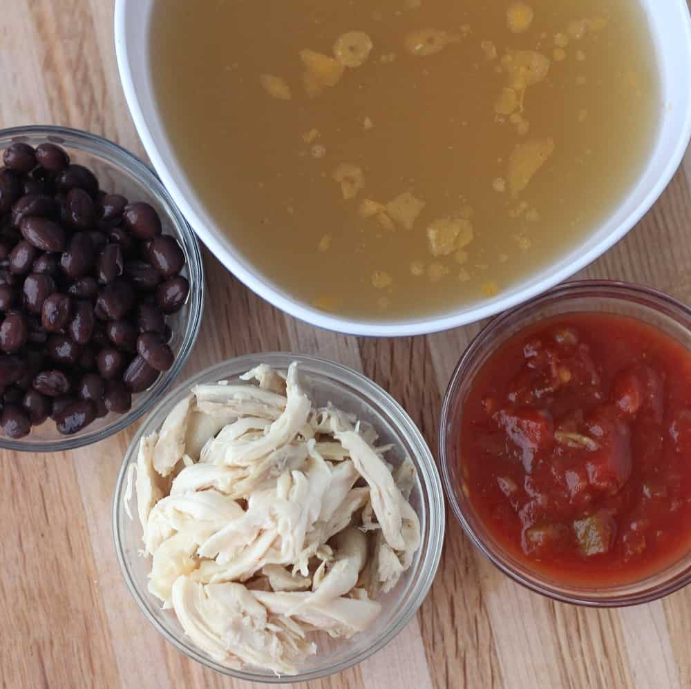 Four Ingredient Soup Living Well Kitchen