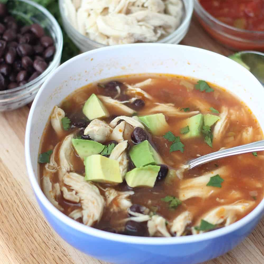 Four Ingredient Soup from Living Well Kitchen