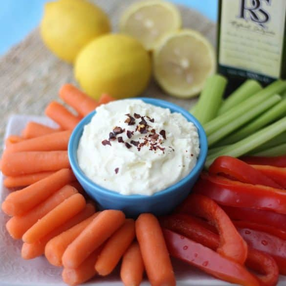 Lemon Feta Dip from Living Well Kitchen