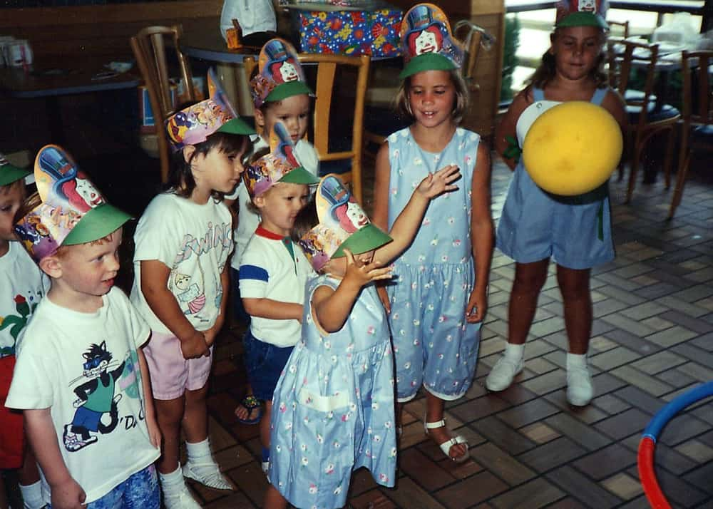 Birthday Parties through the years from Living Well Kitchen