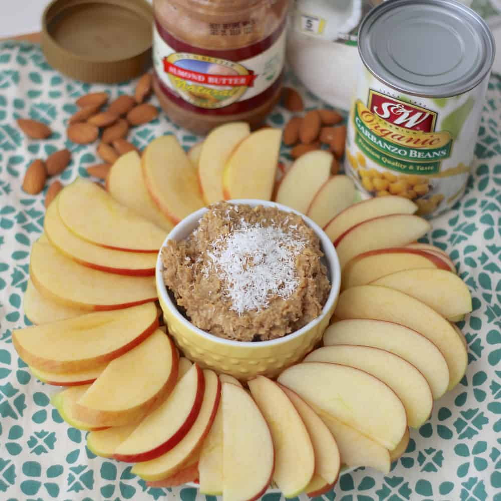 Coconut Almond Cookie Dough Dip1