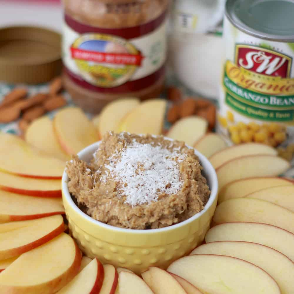 Coconut Almond Cookie Dough Dip2