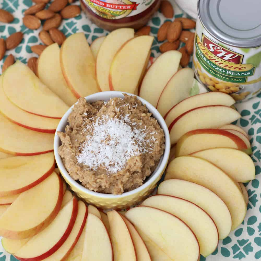 Coconut Almond Cookie Dough Dip3