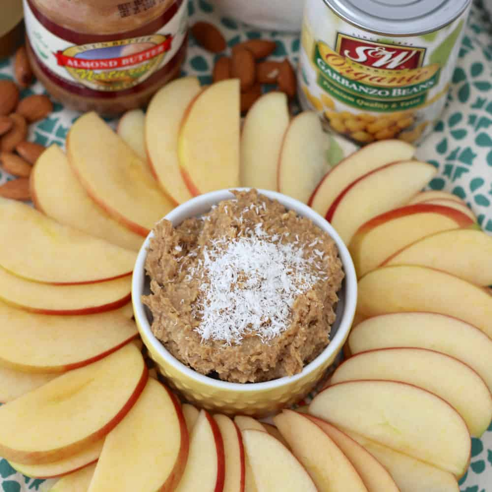 Coconut Almond Cookie Dough Dip from Living Well Kitchen