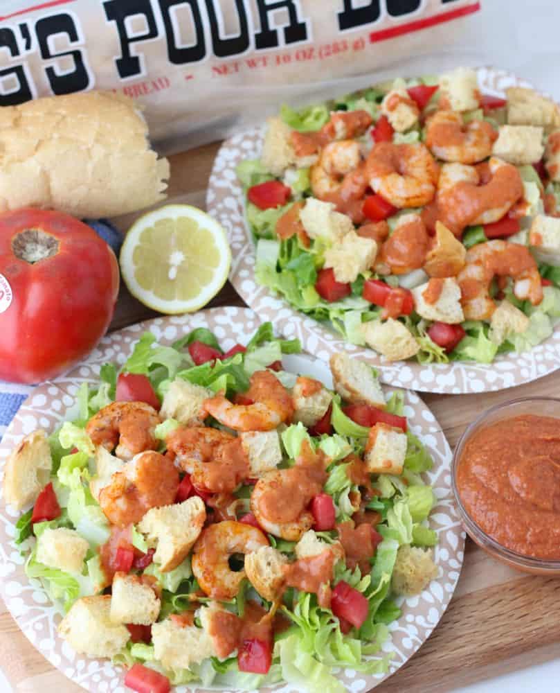 Shrimp Po' Boy With Remoulade Recipe — Dishmaps