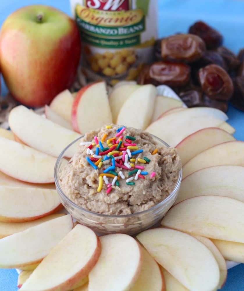 {no sugar added} Sugar Cookie Dip from Living Well Kitchen