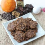 Walnut Chocolate Chip Cookies from Living Well Kitchen #glutenfree #cookie #dessert #healthier