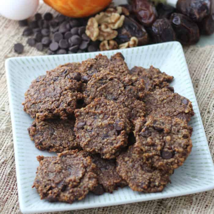 Walnut Chocolate Chip Cookies from Living Well Kitchen