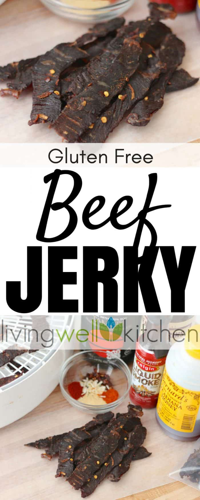 beef jerky collage