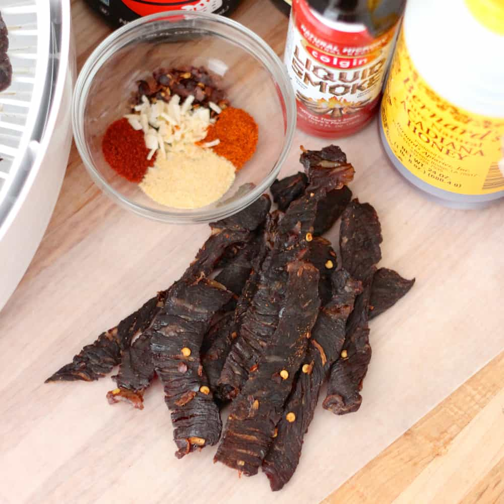 Beef Jerky from Living Well Kitchen