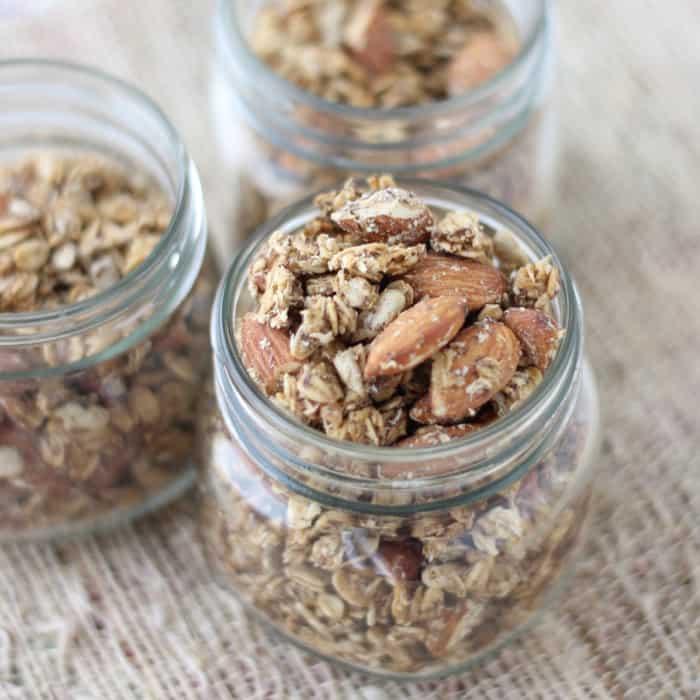 Coconut Almond Granola1