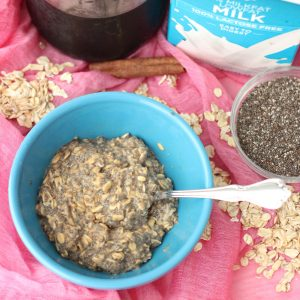 Overnight Coffee Oats from Living Well Kitchen