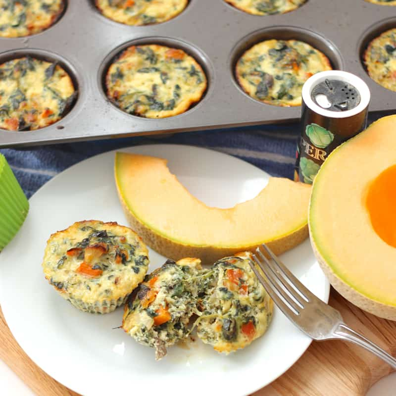 Egg Muffins from Living Well Kitchen; high in protein, low carb, gluten free
