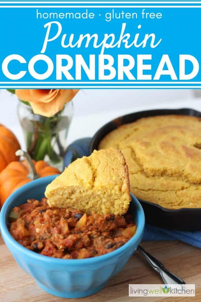 pumpkin cornbread and chili