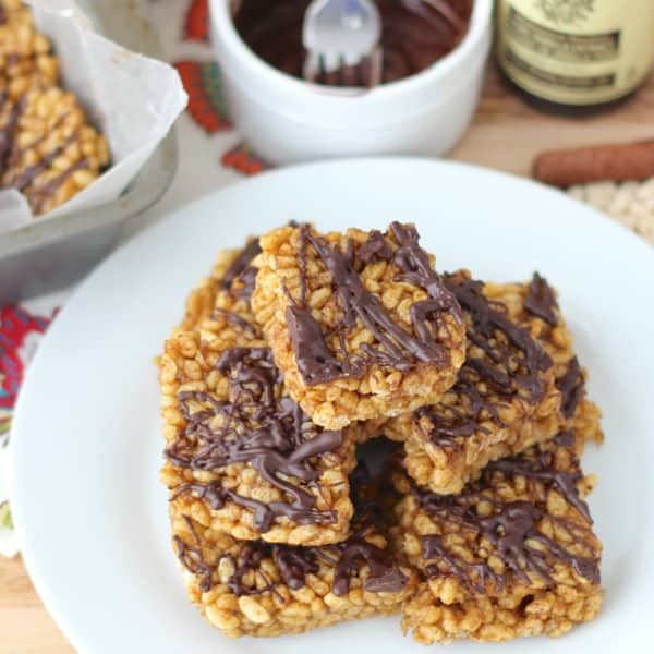Delicious Fall Pumpkin Rice Crispy Treats