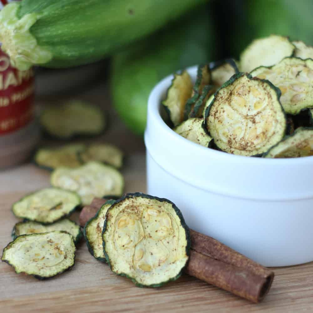 Cinnamon Zucchini Chips from Living Well Kitchen