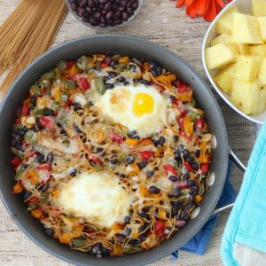 Breakfast Pasta from Living Well Kitchen