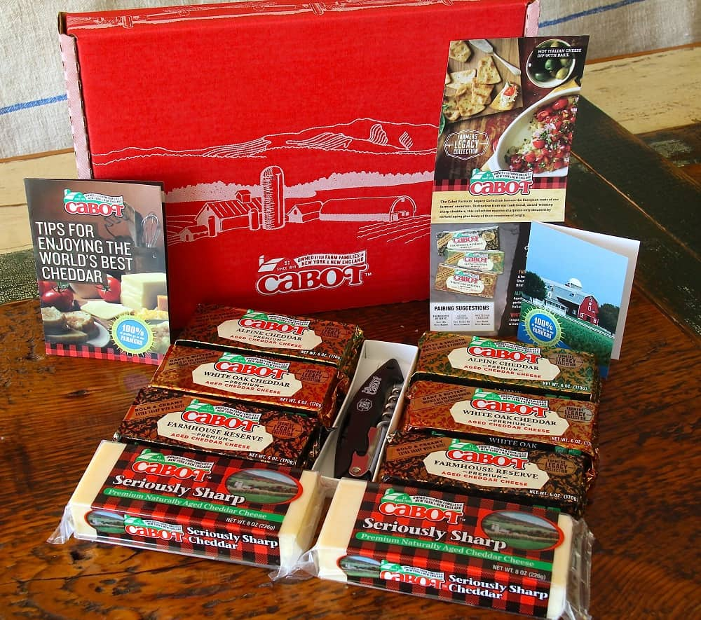Cabot Cheese Legacy Gift Box