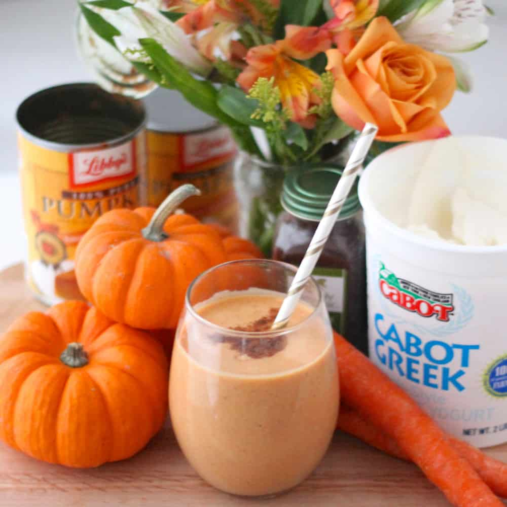 Pumpkin Smoothie recipe from Living Well Kitchen