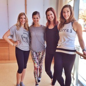 weekly wrap-up: barre3 manager training