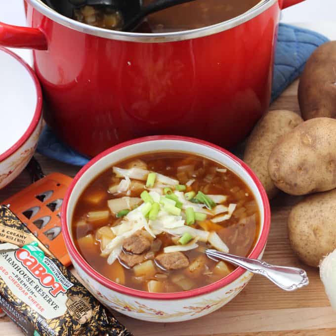 Steak and Potato Soup from Living Well Kitchen