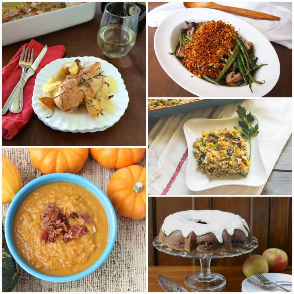 A collection of over 50 recipes perfect for Thanksgiving ~ Thanksgiving Recipe Round-up from Living Well Kitchen