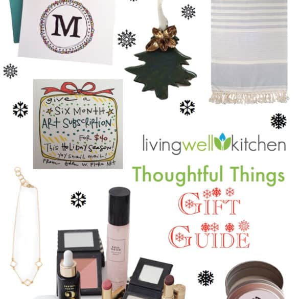Thoughtful Things Gift Ideas from Living Well Kitchen @memeinge