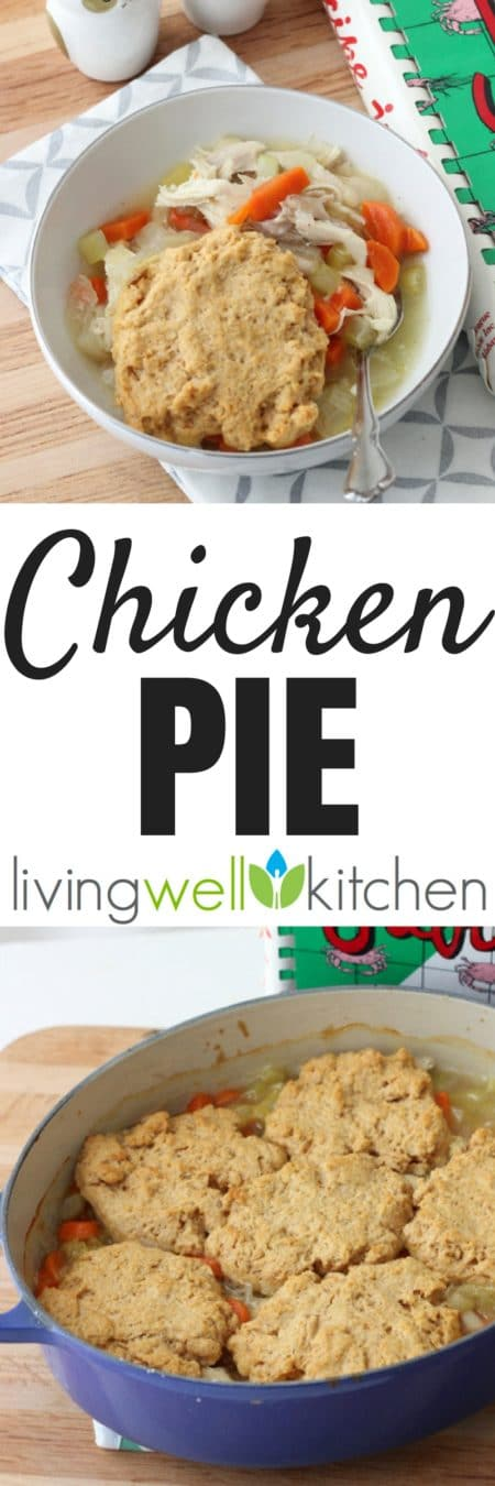 A classic family recipe for Chicken Pie from @memeinge, complete with a biscuit topping, that's the perfect meal to make on a leisurely weekend afternoon. Great for cold nights. #casserole #recipe #recipeoftheday #chicken #chickendinner #healthycasserole
