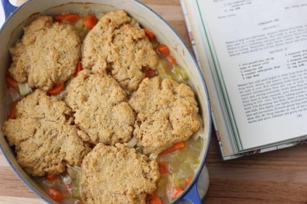 Recipe Jubilee Chicken Pie from Living Well Kitchen @memeinge