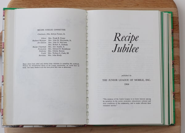 JLM Recipe Jubilee cookbook from Living Well Kitchen