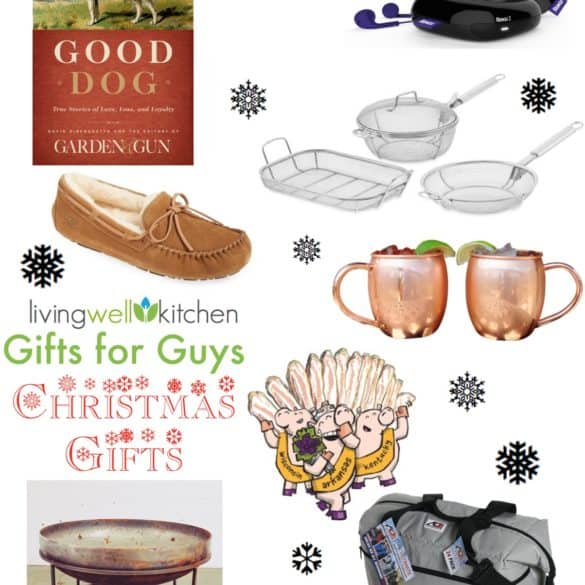 Gift Guide: Gifts for Guys from Living Well Kitchen