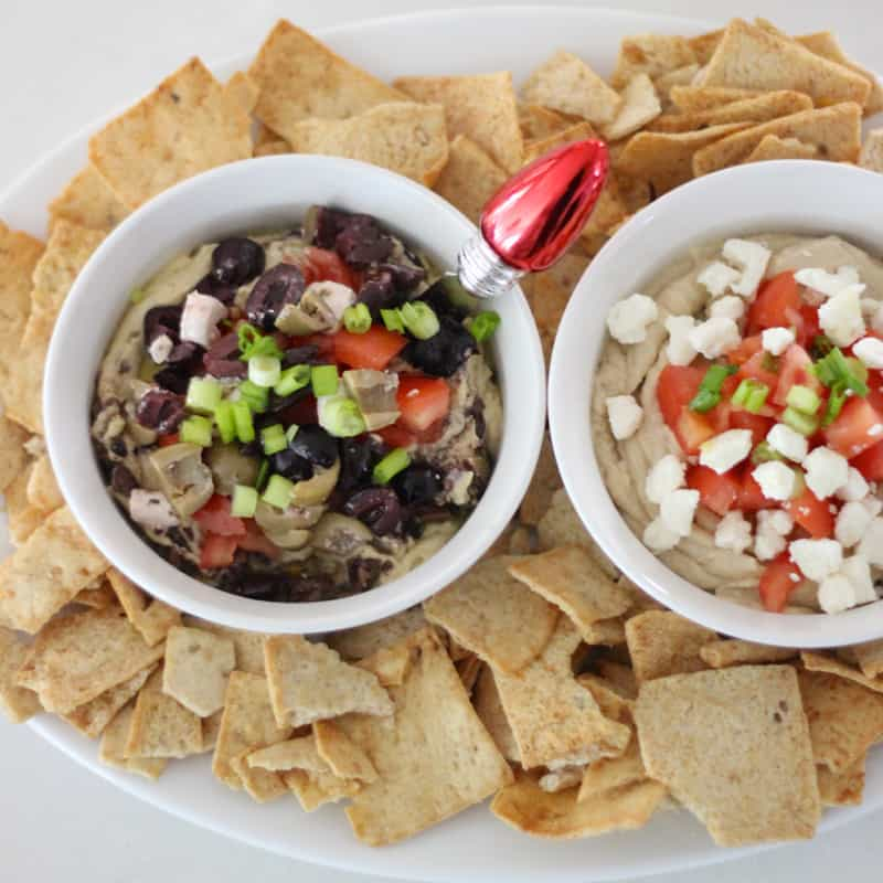 Easy Greek Hummus from Living Well Kitchen