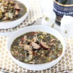 Good Luck Greens Soup from Living Well Kitchen