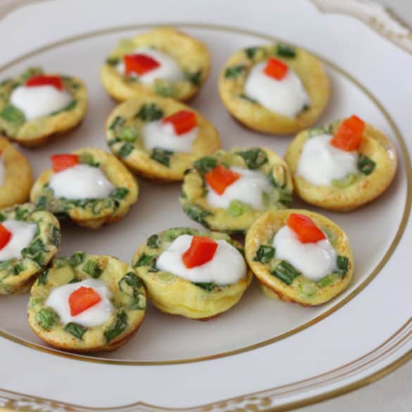 Mini Frittatas from Living Well Kitchen