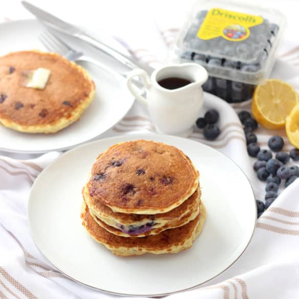 Blueberry Protein Pancakes from Living Well Kitchen
