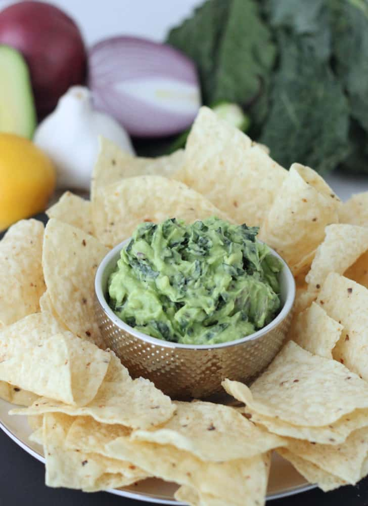 Kale-amole from Living Well Kitchen @memeinge
