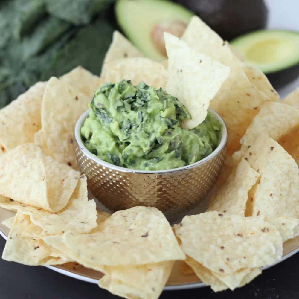 Kale-amole from Living Well Kitchen