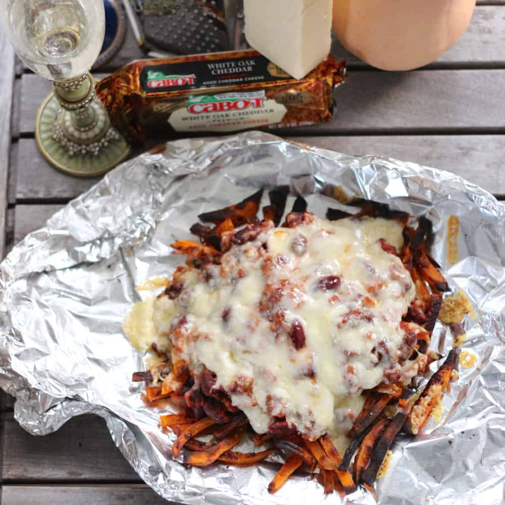 Messy Fries from Living Well Kitchen