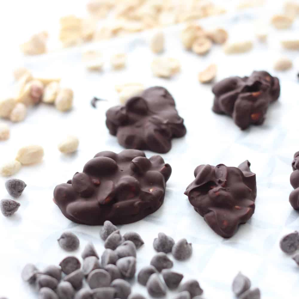 Peanut Chocolate Clusters from Living Well Kitchen
